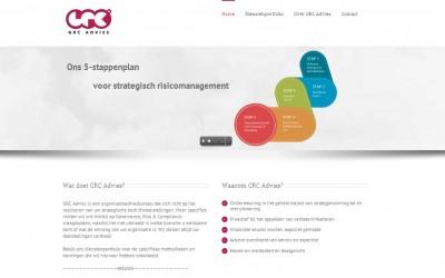 Website GRC Advies online!