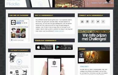 Website SoundRiddle Game gelanceerd