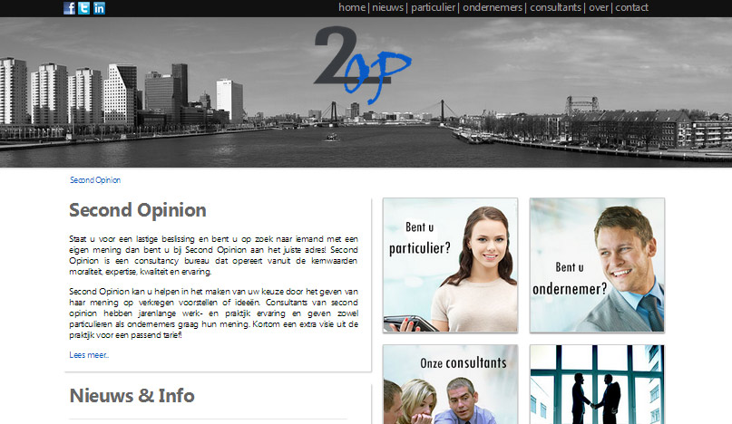Website consultancy bureau 2op online!