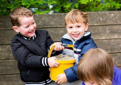 Fotoshoot voor website Kinderdagverblijf